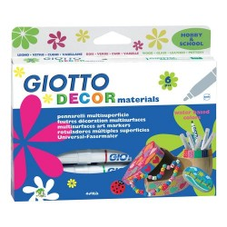 Giotto decor materials, 6...